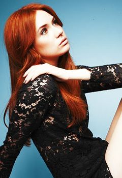 Karen Gillan. Funny, sweet, and beautiful. Not to mention a talented actress.