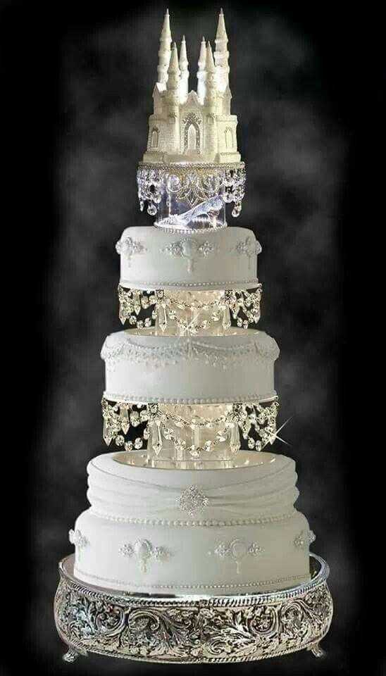 Cinderella Themed Wedding Cake Cakes Pinterest Cinderella