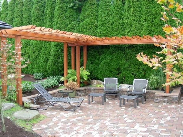 L Shaped Arbour For Corner