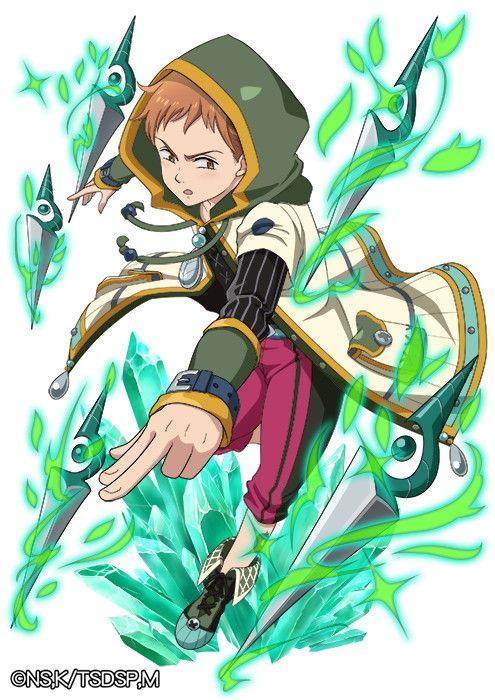King Harlequin Nanatsu No Taizai The Seven Deadly Sins