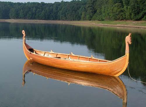 Small Viking Boat Plans | Handmade wooden boats | Pinterest | Boat ...
