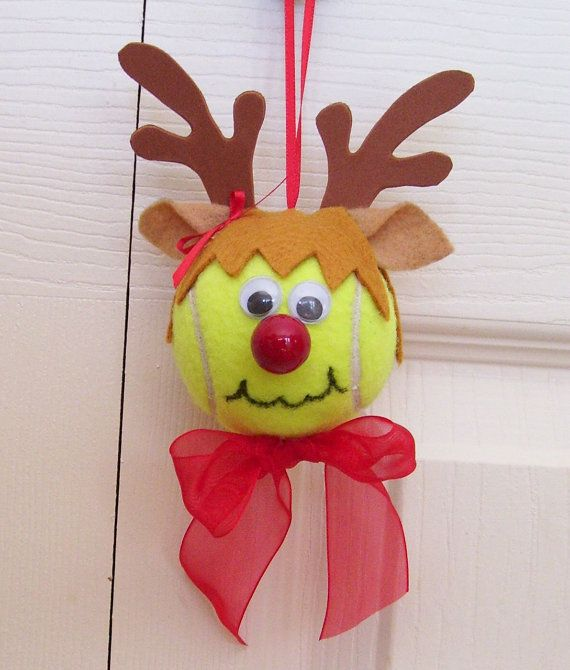 Great little Christmas Ornament for your favorite female tennis player!!  What better gift for