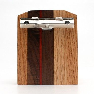 Mini Oak Striped Clipboard-3x4