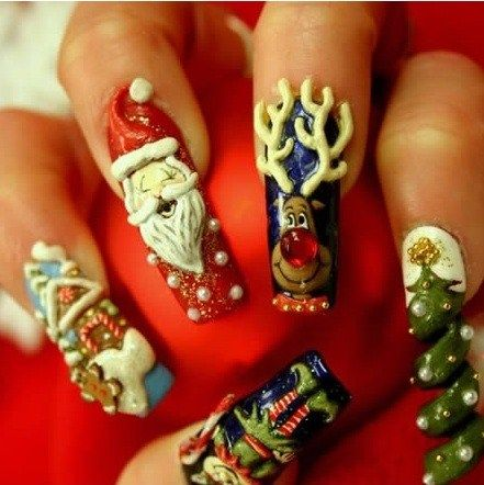 Outrageous nail designs 10 outrageous nail art designs nail outrageous nail designs 10 outrageous nail art designs prinsesfo Choice Image