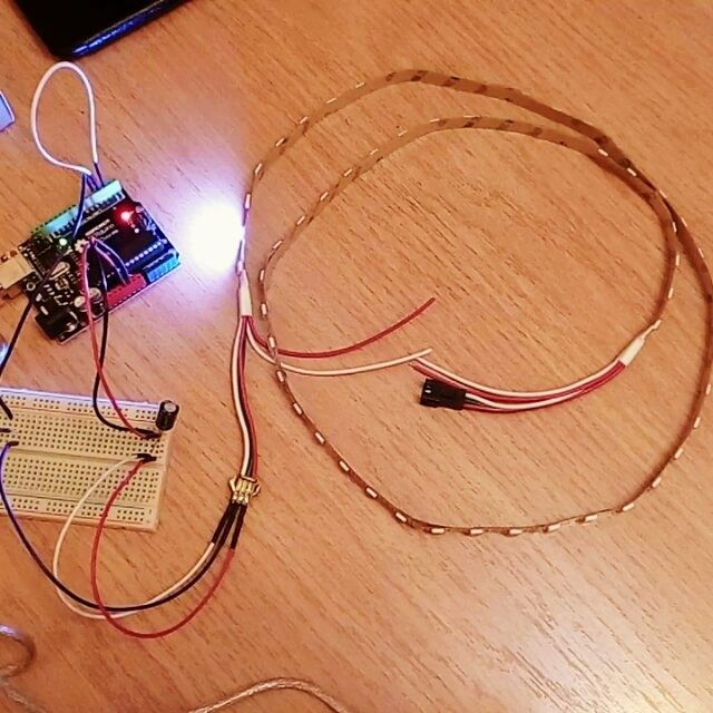 Finished a simple accurate clock using only one wire a bunch of ...