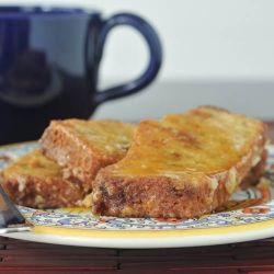 zucchini bread french toast