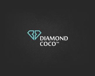 Diamond Coco | #logo #corporatedesign #corporate-identity #identity #corporate #inspiration  www.facebook.com/BlickeDeeler.de