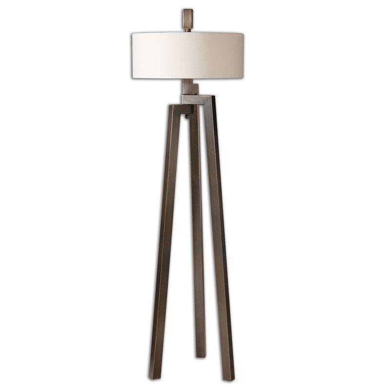 Tripod Floor Lamp Bronze