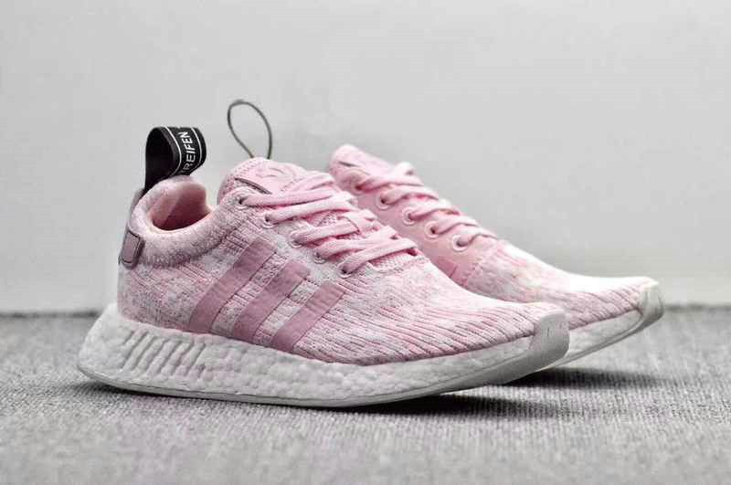 the latest 8d467 0f0d0 Original 2018 Women Adidas NMD R2 PK Pink White