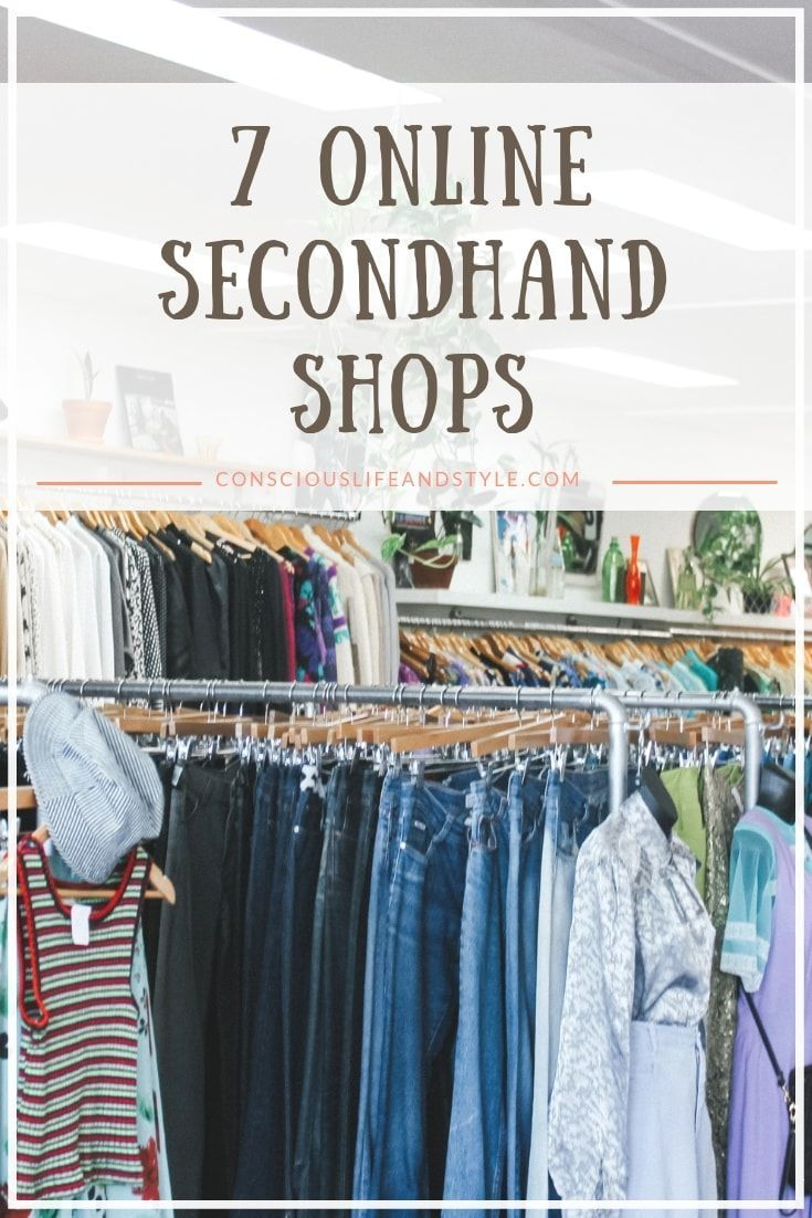 Shopping Secondhand Is An Awesome Way To Find Affordable Sustainable Fashion But It Can Be Thrift Store Fashion Thrift Store Outfits Thrift Store Diy Clothes