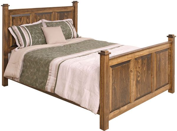 the latest c5209 51e56 shaker style headboard | Modern Shaker Queen Bed stained in ...