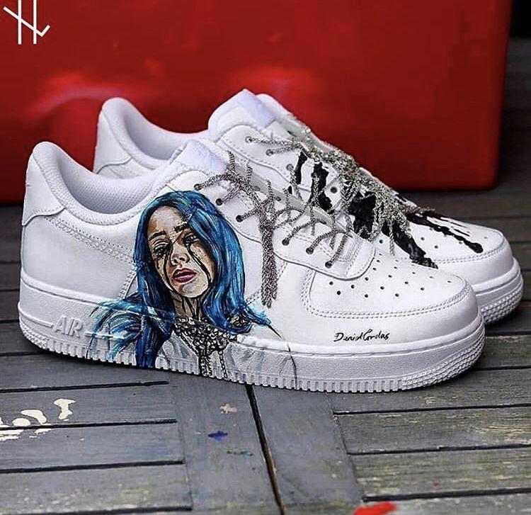 dessin kawaii de chaussures fila
