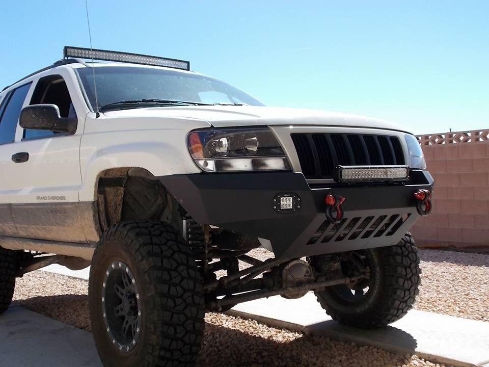 99 04 Wj Non Winch Bumper Kit Jeep Bumpers Jeep Wj Jeep