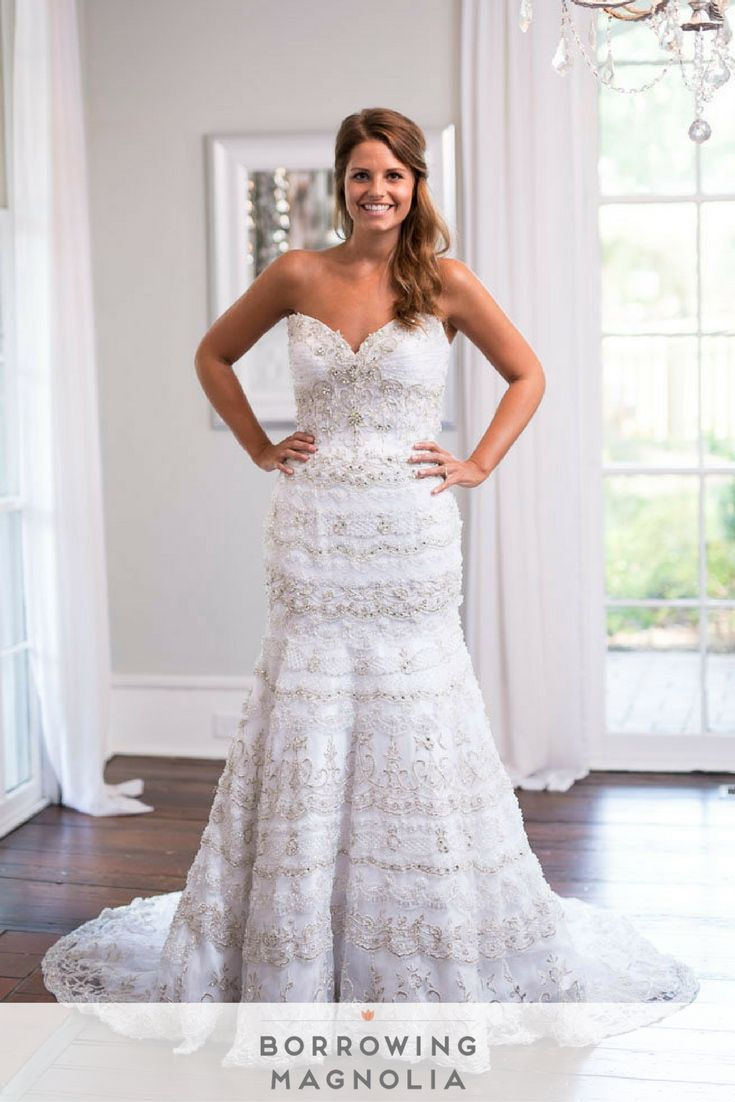 Stephen Yearick designer wedding gown, style 13921. Borrowing ...