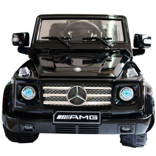 Black  sc 1 st  Pinterest & Homcom 12V kids Electric Ride on Car Licensed Mercedes Benz G55 ... pezcame.com