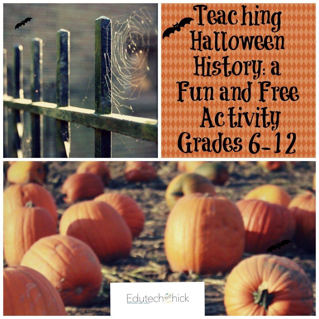 Halloweenhistory Pin