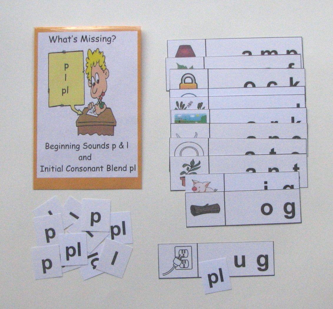 Beginning Sounds Amp Initial Consonant Blends First Grade