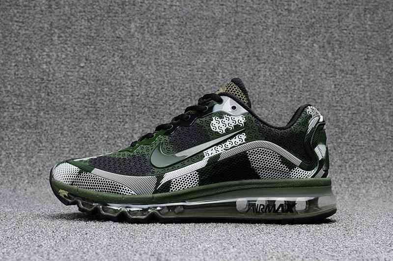 Nike Air Max KPU Camo Green Men Sneakers Men's Fashion