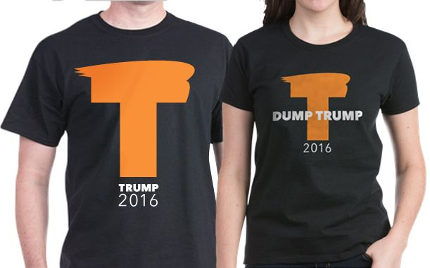 Trump Comb-Over Shirts. Whether you love him or...eeh...not so much...these shirts are going to be HUGE!
