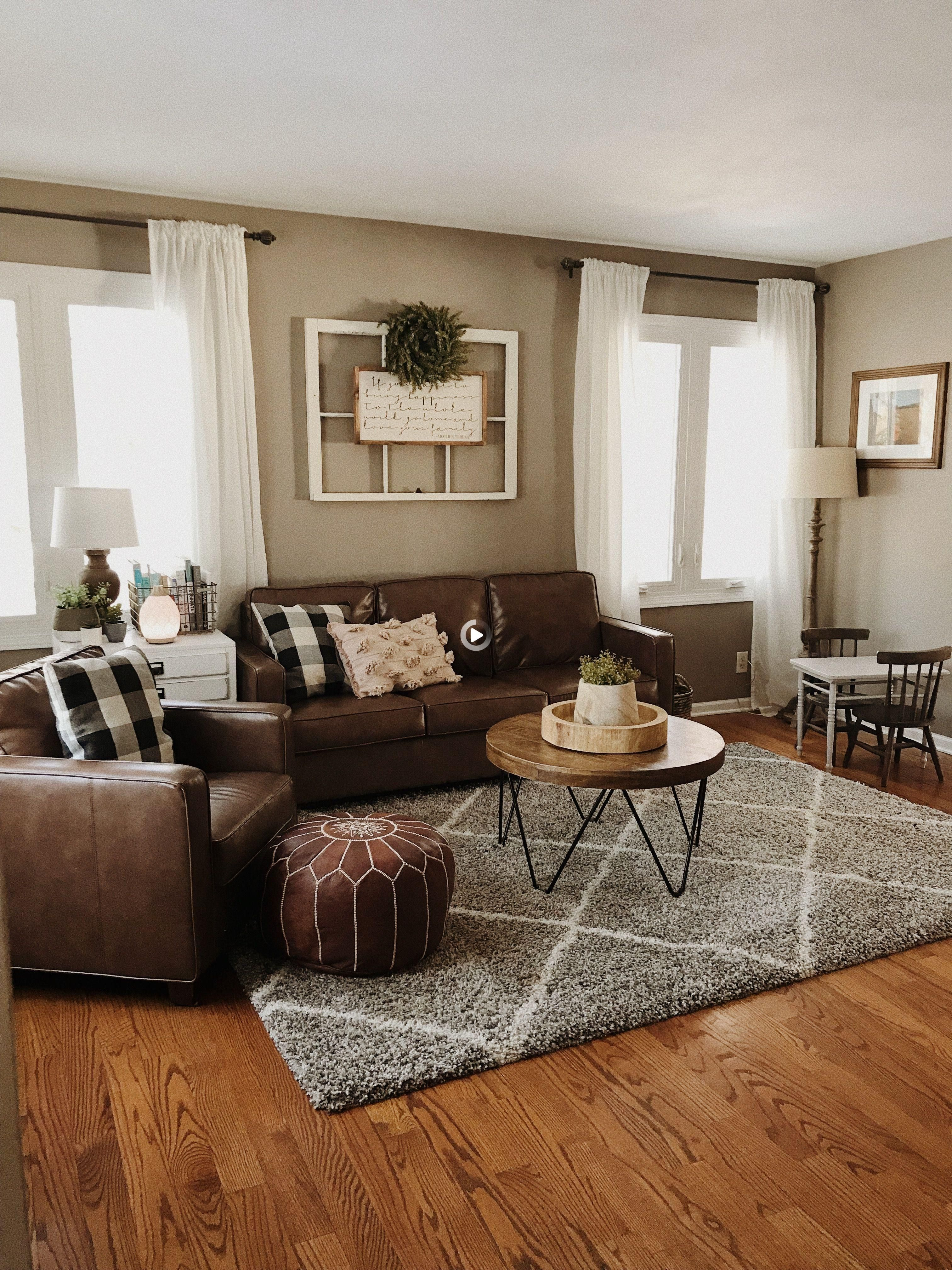 37 Brown Living Room Ideas Information, Brown Couch Living Room