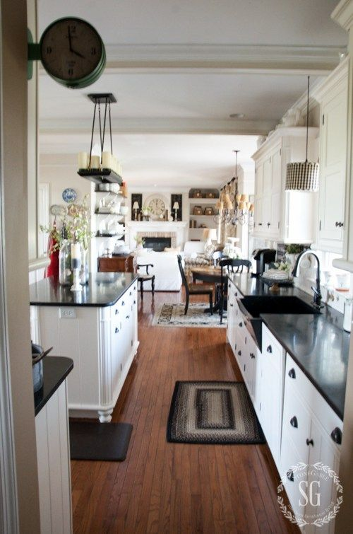 SPRING HOME TOUR HOSTED BY COUNTRY LIVING MAGAZINE | Kitchen ...