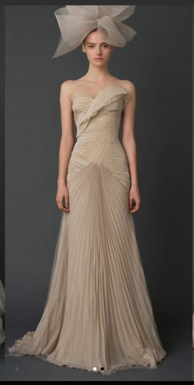 Fancy This beautiful Vera Wang Hayden dress was bought in New York December Purchased at the Vera Wang Sample sale