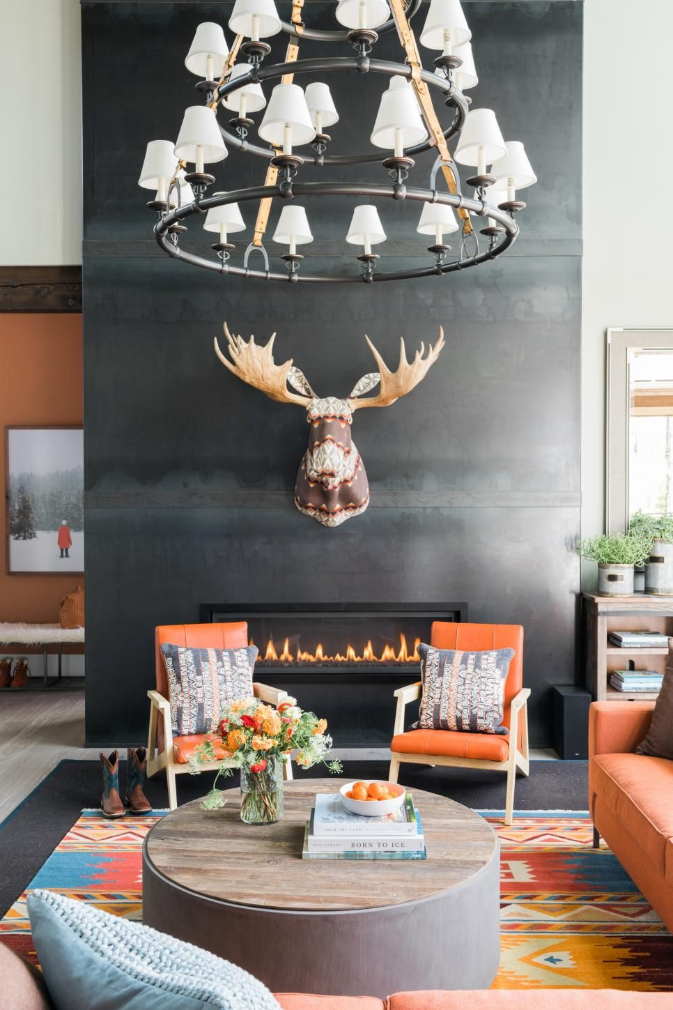 Cool Sunken Living Room Ideas For Your Dreamed House: HGTV Dream Home 2019: Great Room Pictures