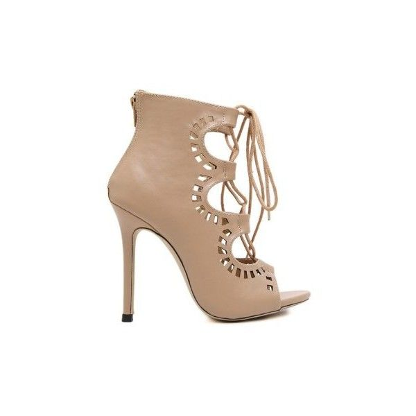 For Women Cut Out And Cross Strap Peep Toe Shoes