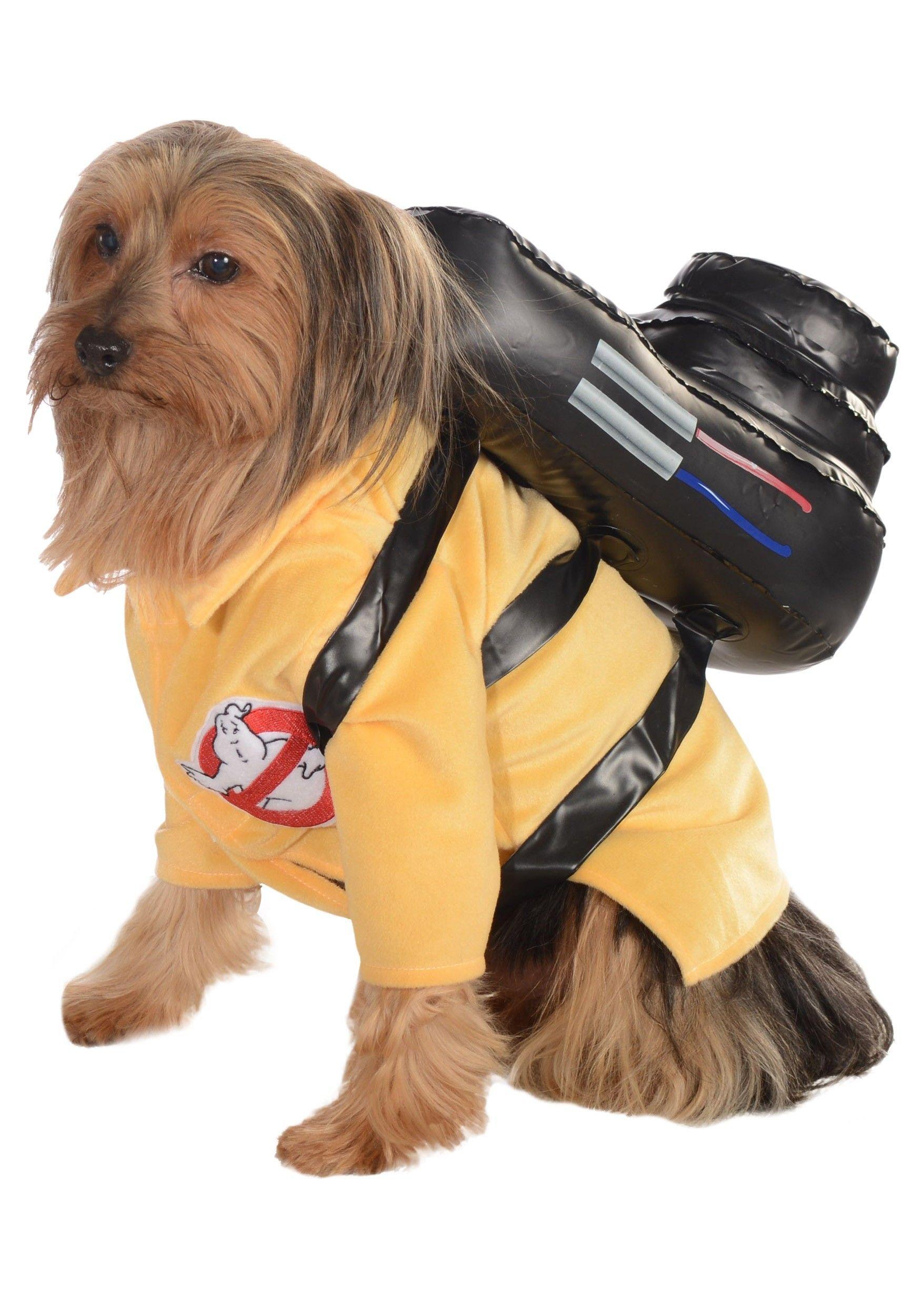 Disfraz de Caza Fantasmas Para Perro