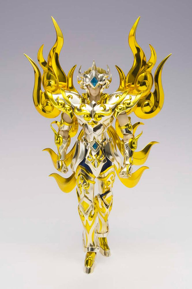 Bandai Saint Seiya Myth Cloth Ex En Stock Soul of Gold Aiolia Lion