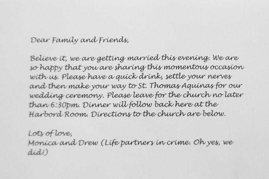 Surprise Wedding Invitation Wording: Toronto Surprise Wedding From Tara McMullen Photography