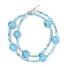 Turquoise Satelite Bracelet www.jewelya.com