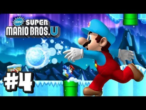 New Super Mario Bros U Wii U - Part 4 World 3 | Yum Yum
