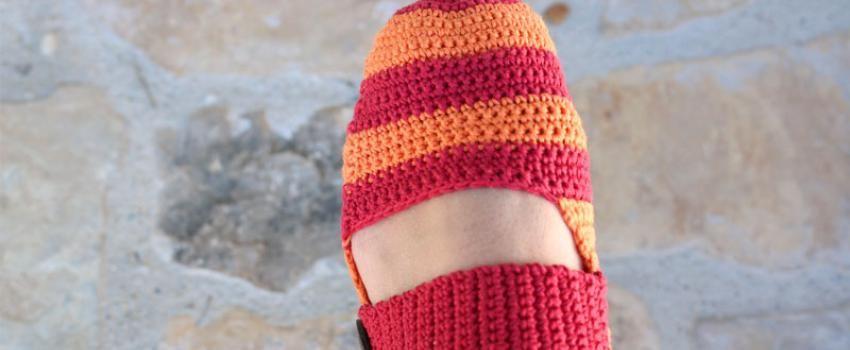 Free Slippers crochet pattern | Crochet | Pinterest