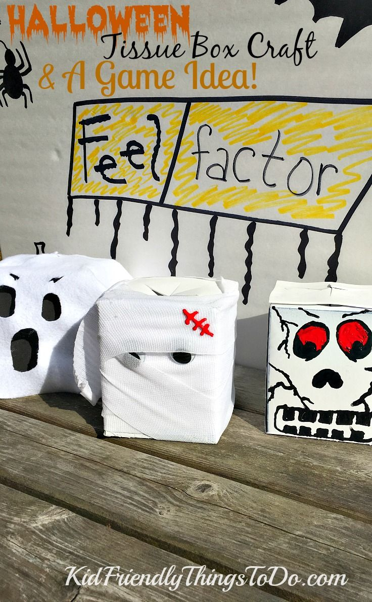 halloween fear factor game for kids & craft idea! | halloween party