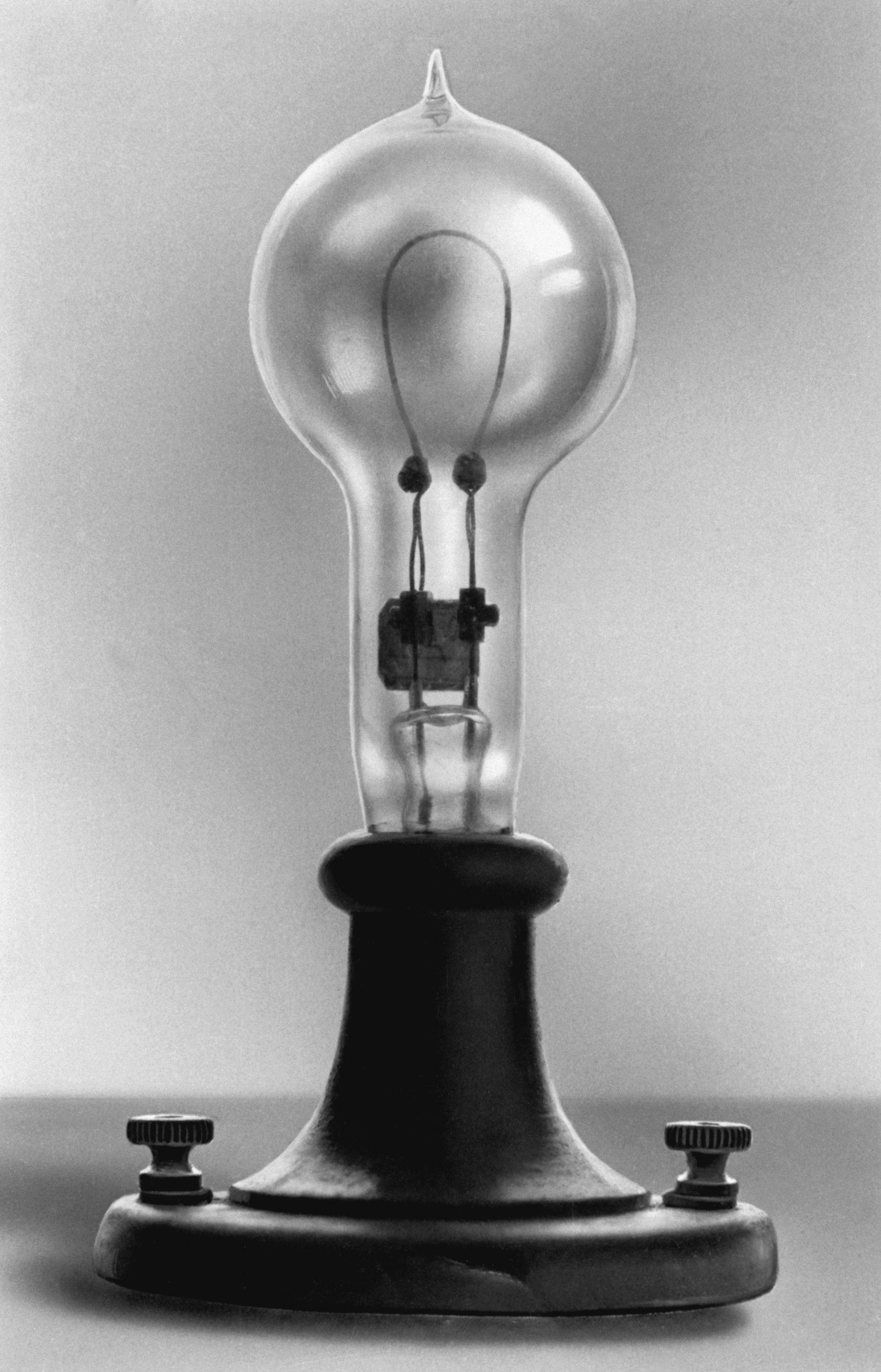 Thomas Edison Light Bulb Replica