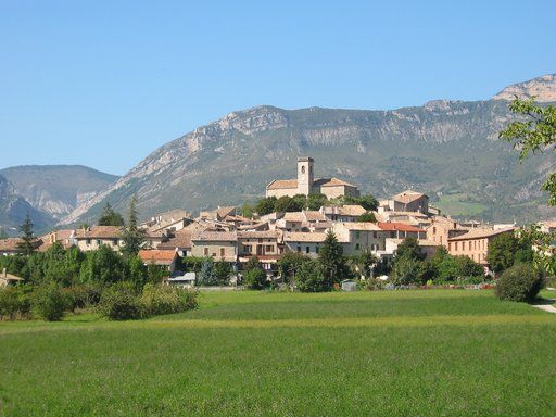 La Motte Chalancon Drome Provence France Ville France Rhone France