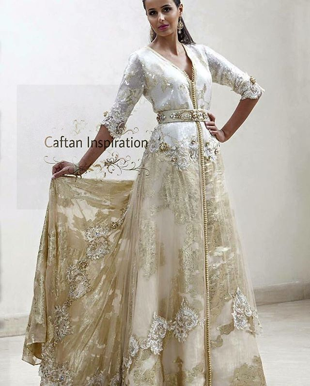 The fabric of this caftan It's just perfect ✨…
