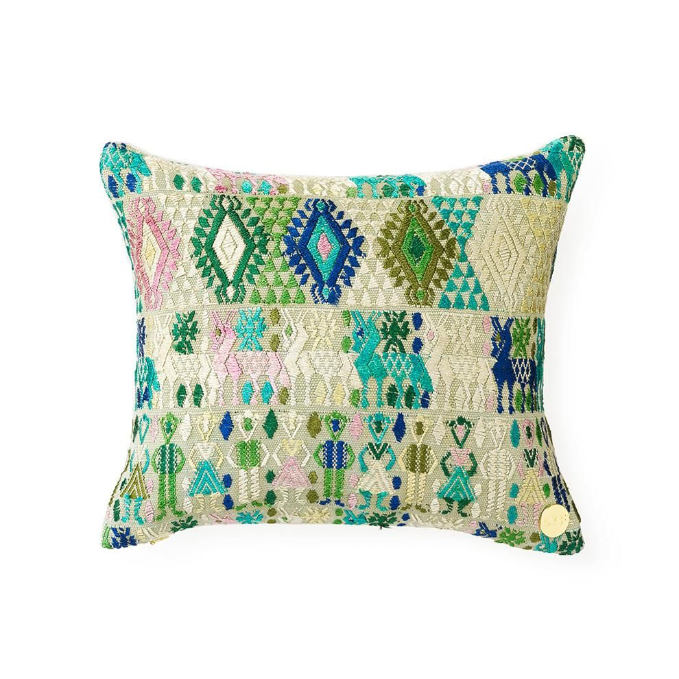 Huipil pillow cxlv pillows pillow talk and linens