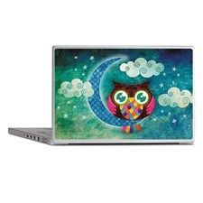 my crescent owl Laptop Skins