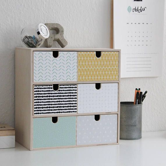 Decoration sticker MUSTA for IKEA MOPPE mini chest of drawers (6 - küche bei poco