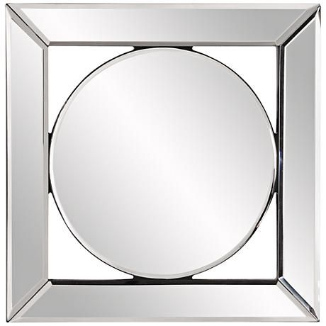 Howard Elliott Lula Mirror Frame 12 Square Wall Mirror 1t533 Lamps Plus Mirror Wall Mounted Mirror Wall Mirrors Set