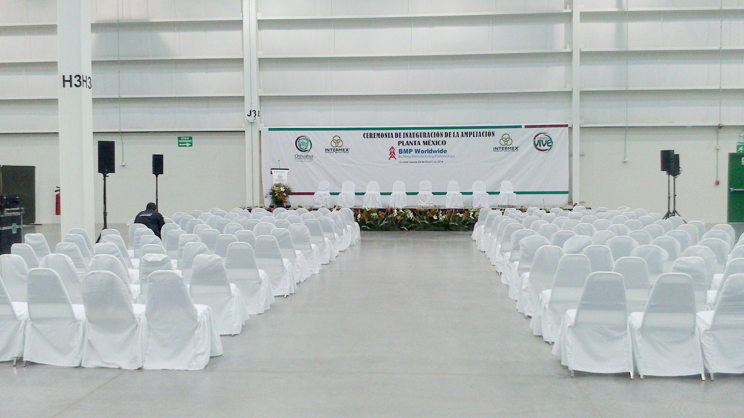 Inauguracion Planta Bmp Cd Juarez Chihuahua Eventos