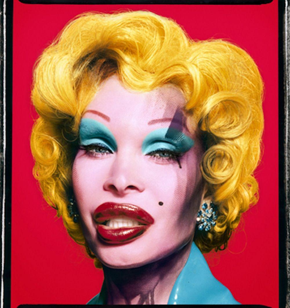 Amanda as Marilyn (Red) by David LaChapelle David