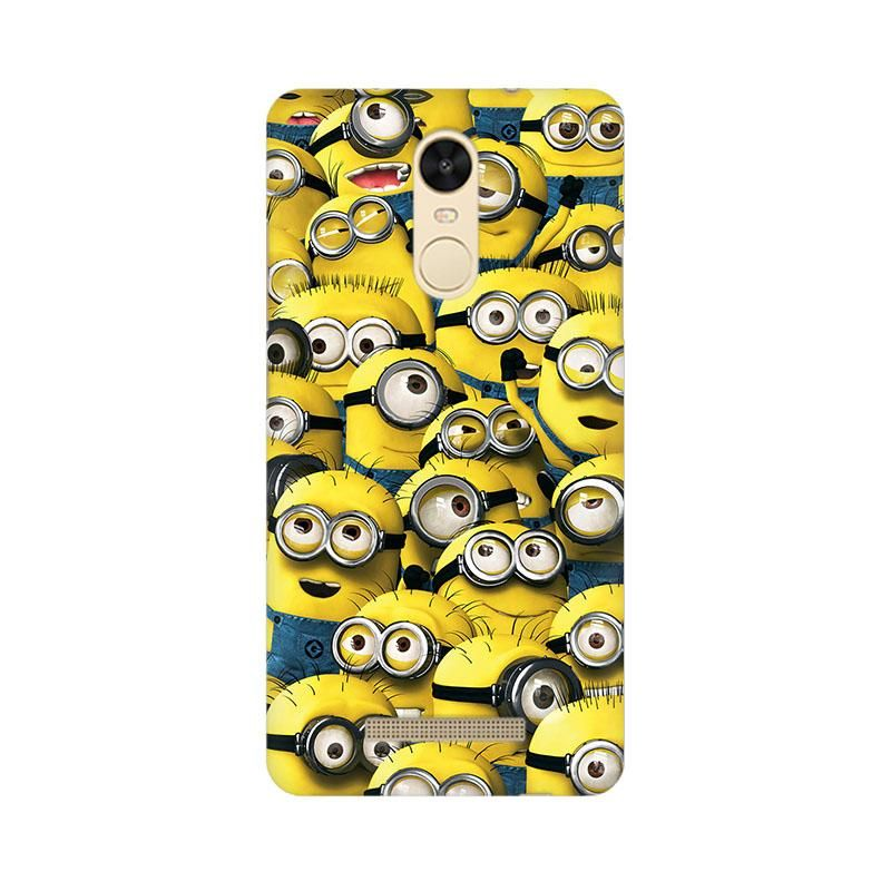 sale retailer 36b14 9231b Minion Cluster Phone Case for Xiaomi Redmi Note 3 | minions | Phone ...
