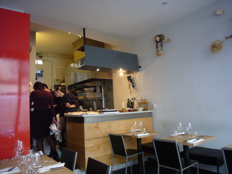 Furniture mesmerizing small restaurant kitchen design with