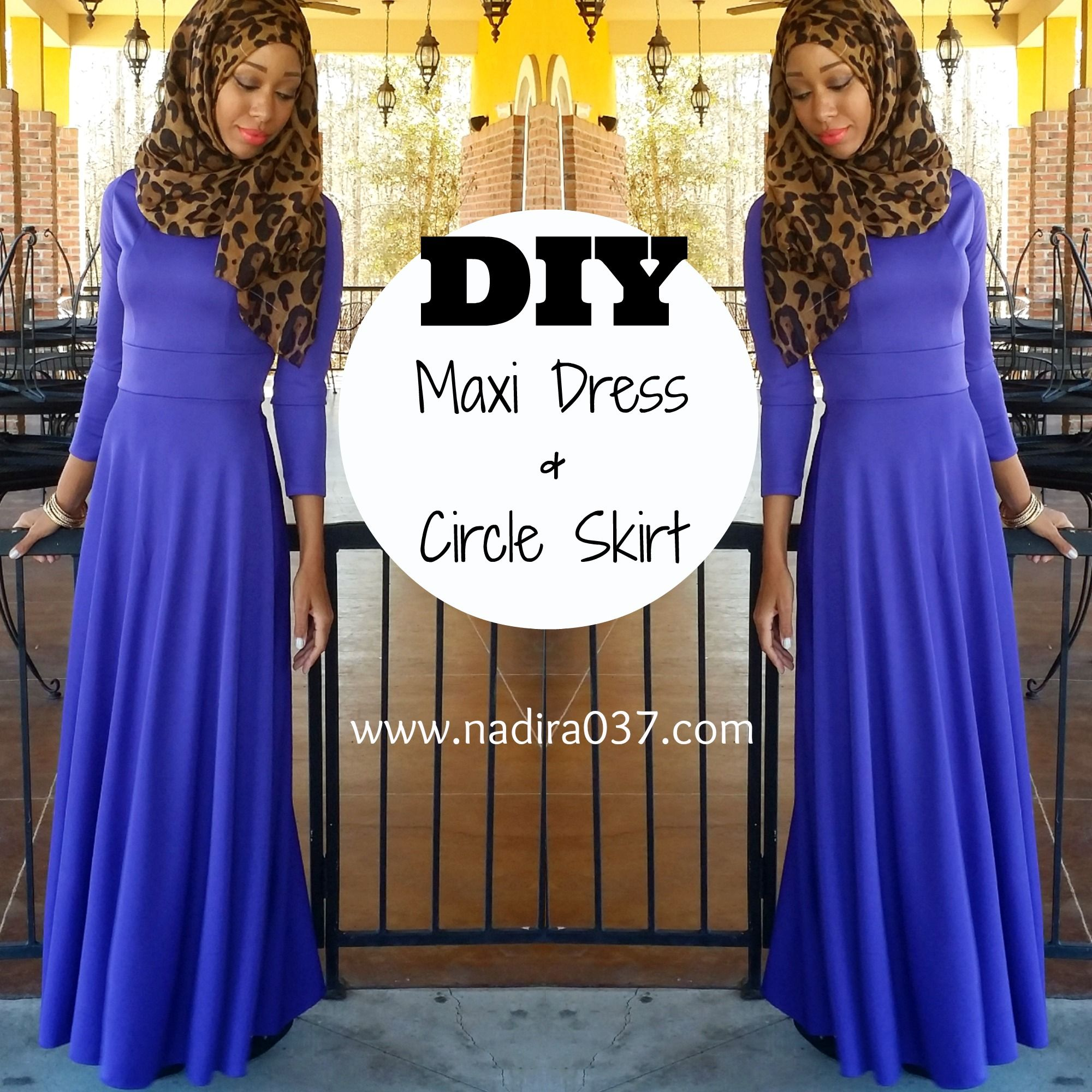 DIY Maxi Dress Pattern