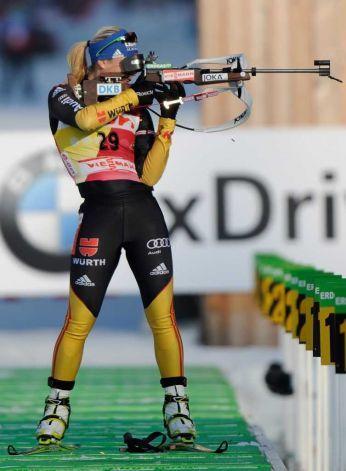 Magdelana Neuner @ 2012 Biatlon Dünya Şampiyonası 7.5 km Sprint