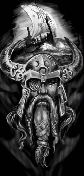 Pin by Dachshund Wrangler on New Tattoo | Viking warrior ...