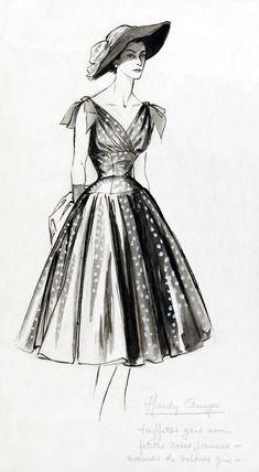 retro fashion sketches wwwpixsharkcom images
